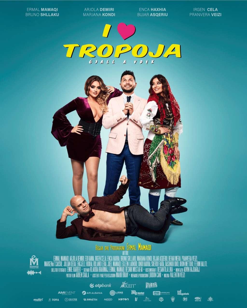I Love Tropoja kapak