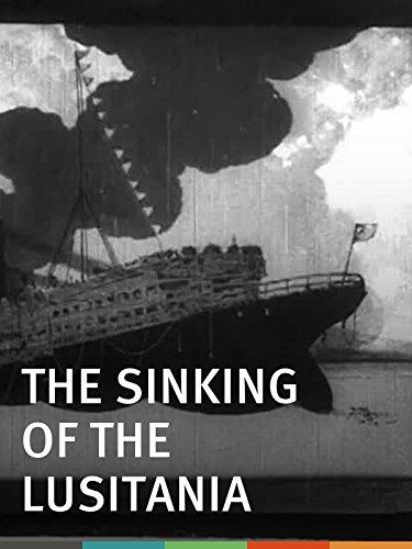 The Sinking of the 'Lusitania' kapak