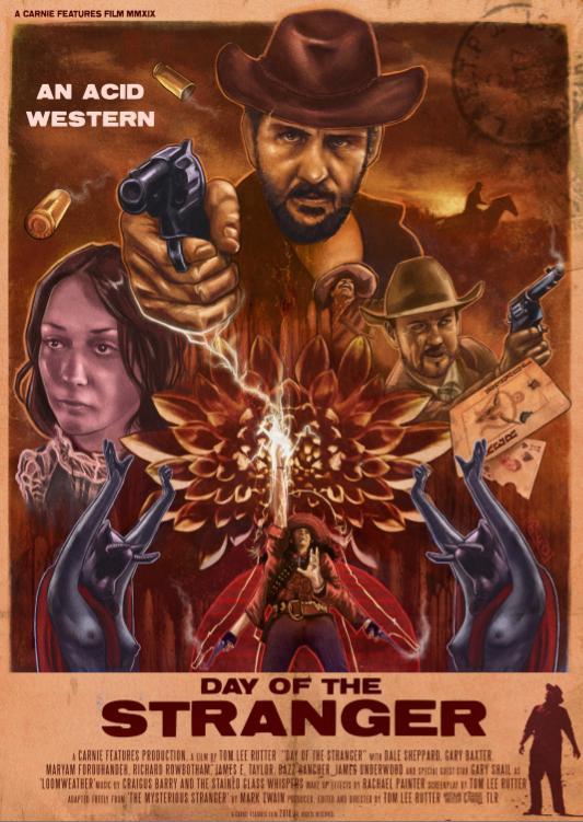 Day of the Stranger kapak