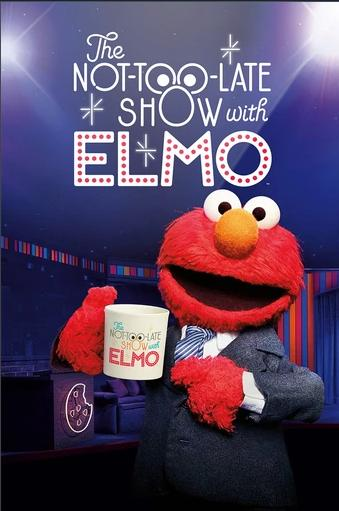 The Not Too Late Show with Elmo kapak