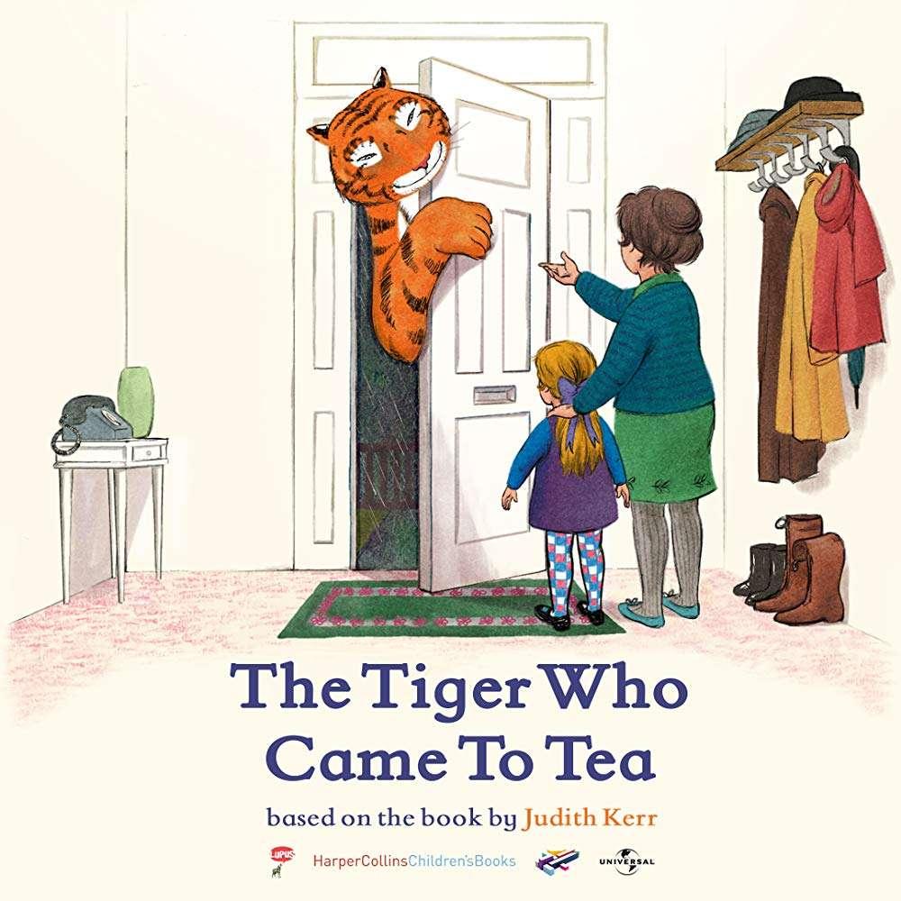 The Tiger Who Came to Tea kapak