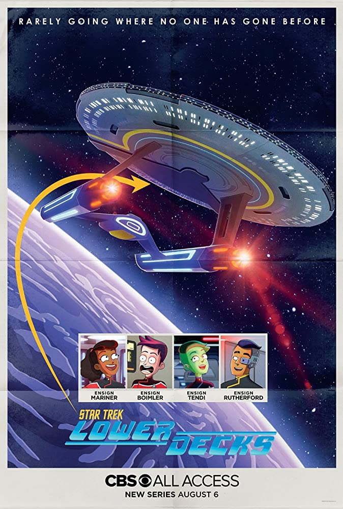 Star Trek: Lower Decks kapak