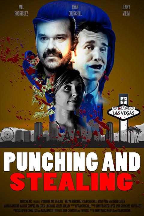 Punching and Stealing kapak