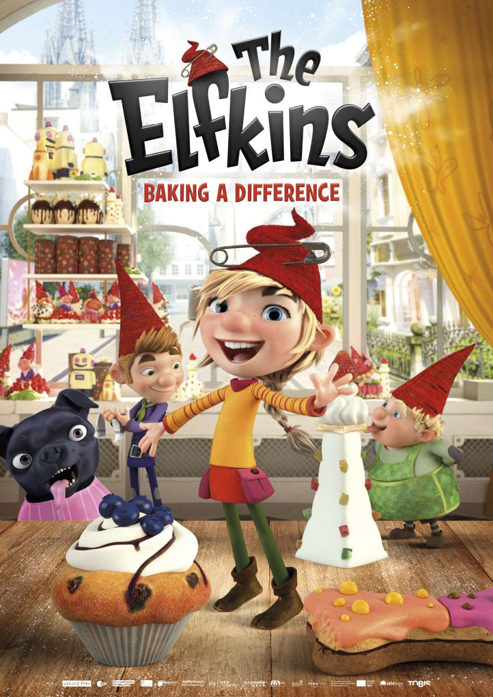 The Elfkins kapak