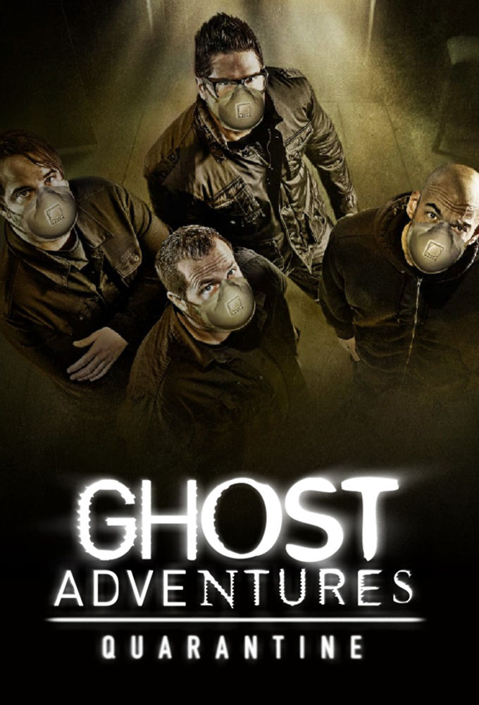 Ghost Adventures: Quarantine kapak