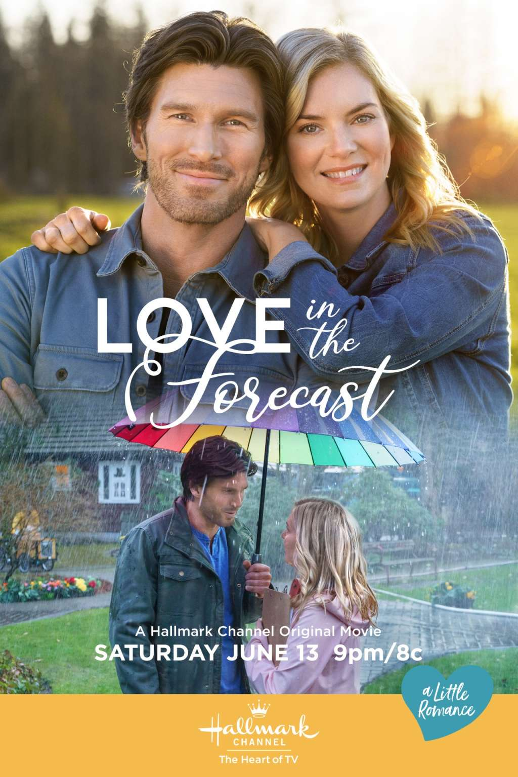 Love in the Forecast kapak