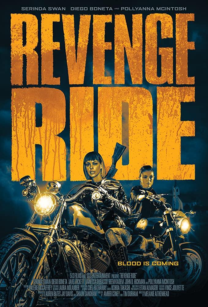 Revenge Ride kapak