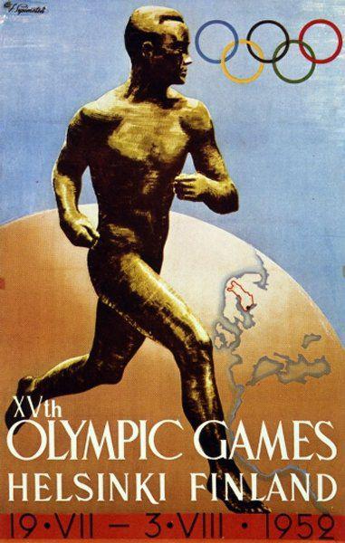 Memories of the Olympic Summer of 1952 kapak