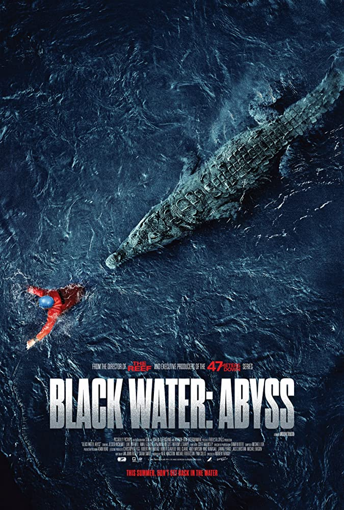Black Water: Abyss kapak
