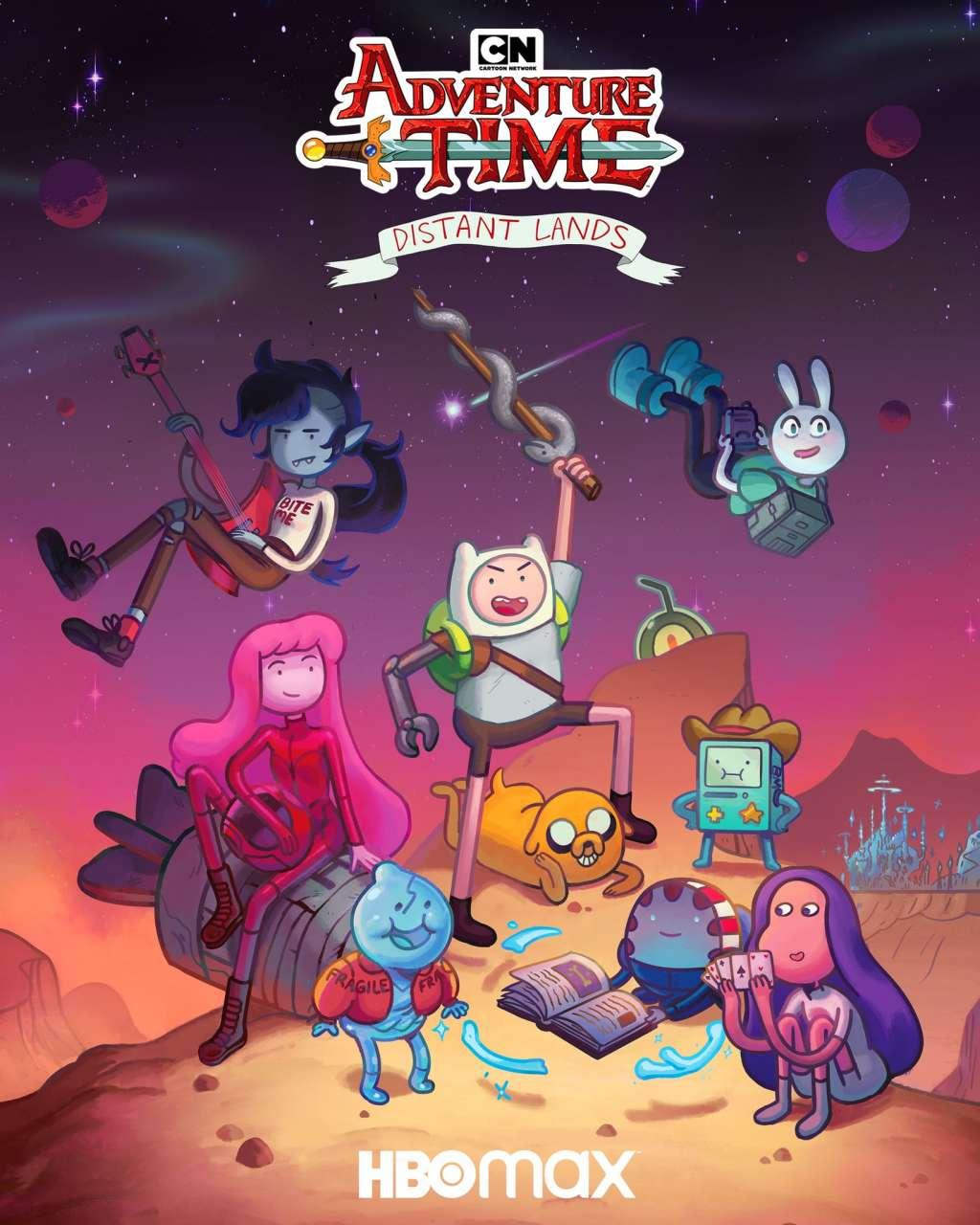 Adventure Time: Distant Lands kapak