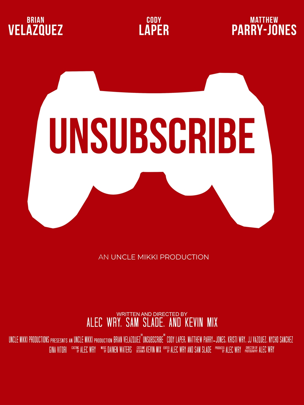 Unsubscribe kapak