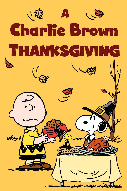 A Charlie Brown Thanksgiving kapak