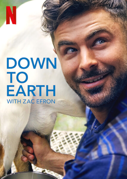Down to Earth with Zac Efron kapak