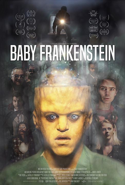 Baby Frankenstein kapak
