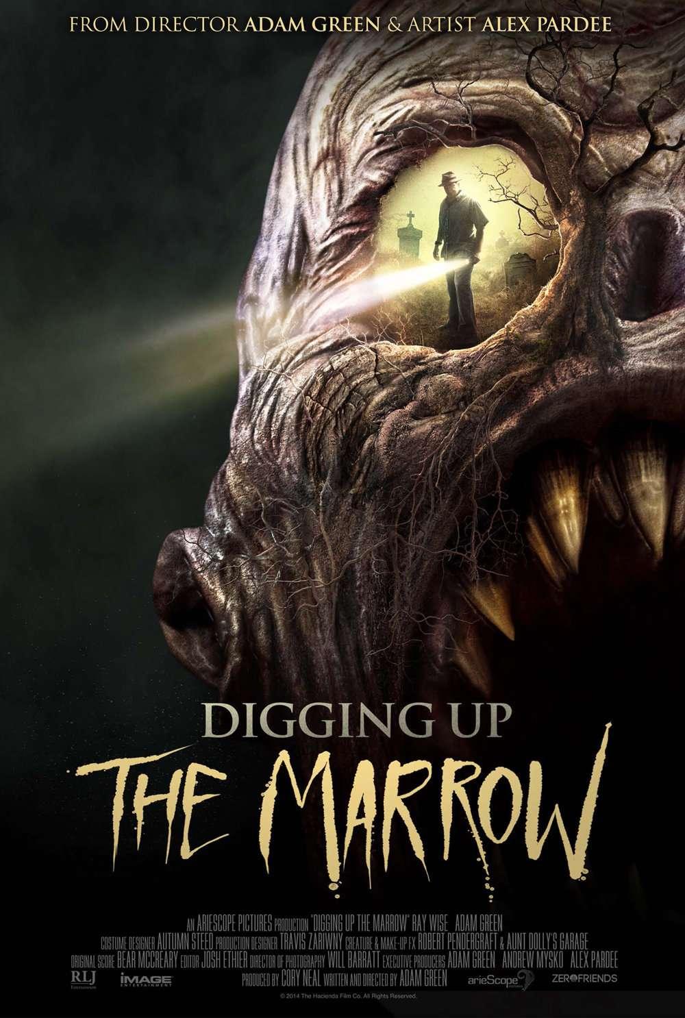 Digging Up the Marrow kapak