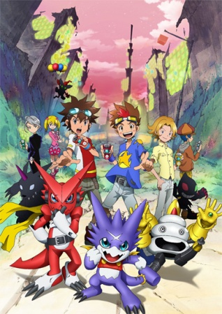 Digimon Xros Wars: The Young Hunters Who Leapt Through Time kapak