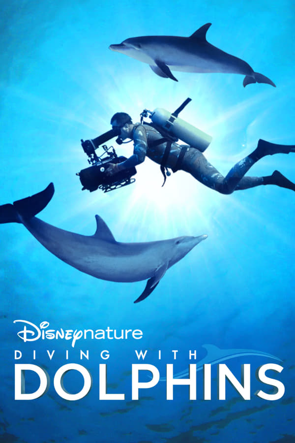 Diving with Dolphins kapak