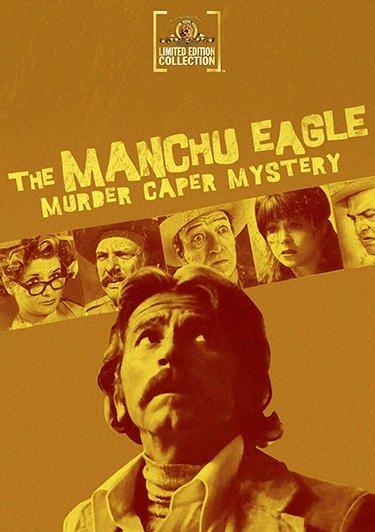 The Manchu Eagle Murder Caper Mystery kapak