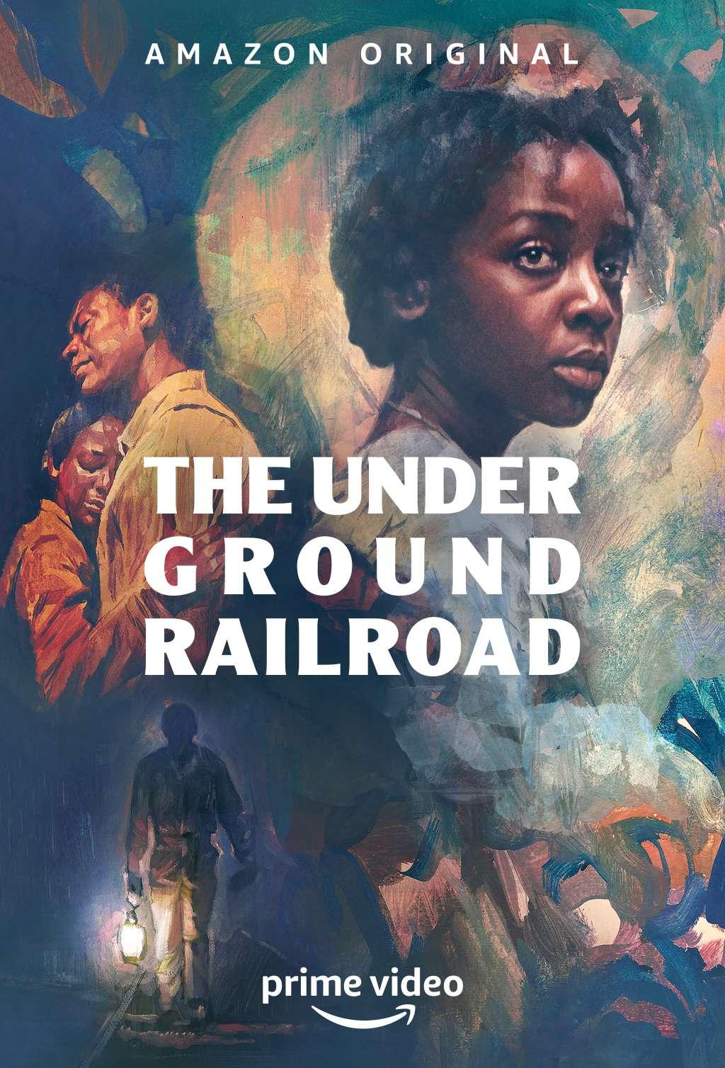 The Underground Railroad kapak