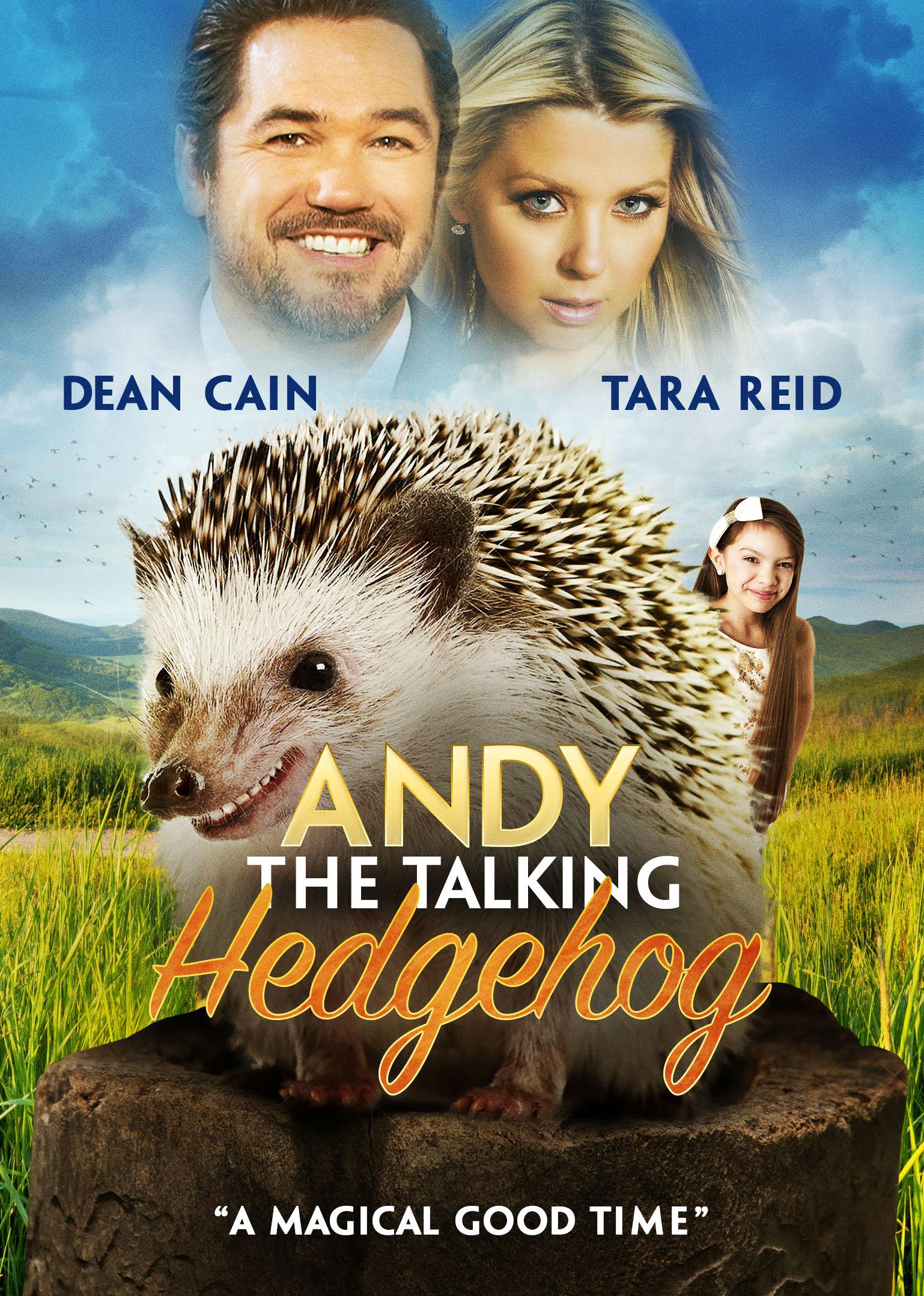 Andy the Talking Hedgehog kapak