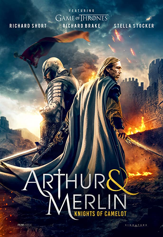 Arthur & Merlin: Knights of Camelot kapak