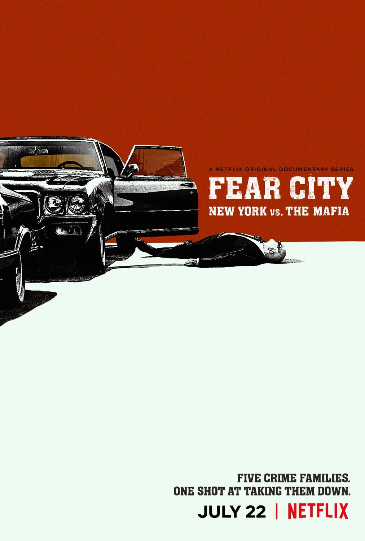 Fear City: New York vs the Mafia kapak