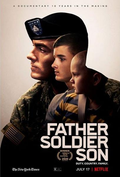 Father Soldier Son kapak
