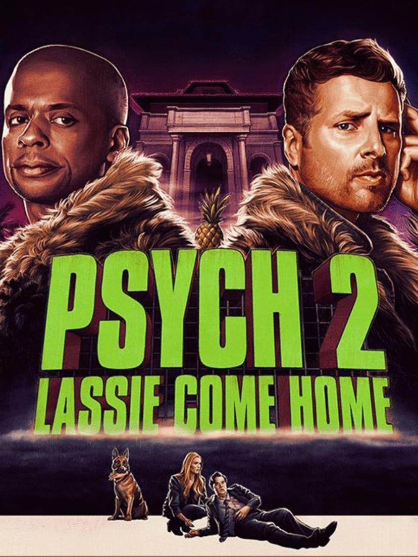 Psych 2: Lassie Come Home kapak
