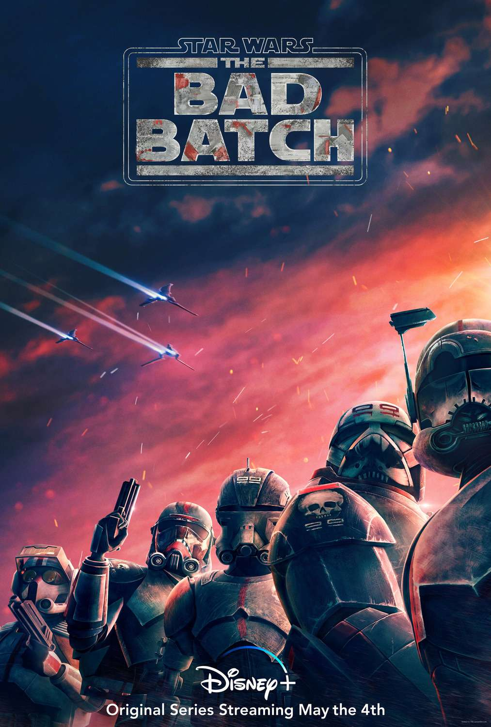 Star Wars: The Bad Batch kapak