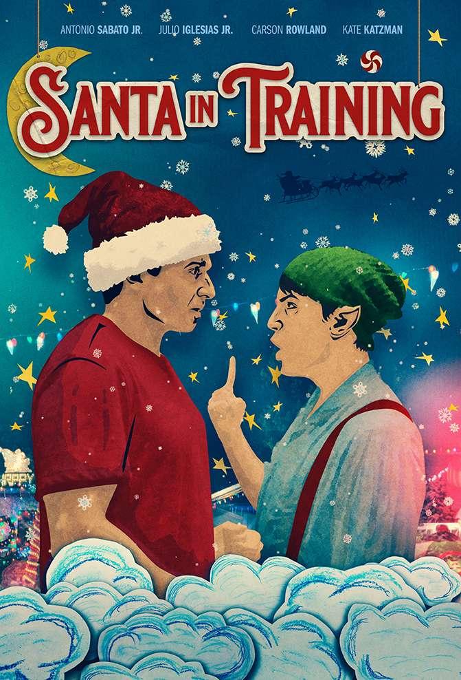 Santa in Training kapak