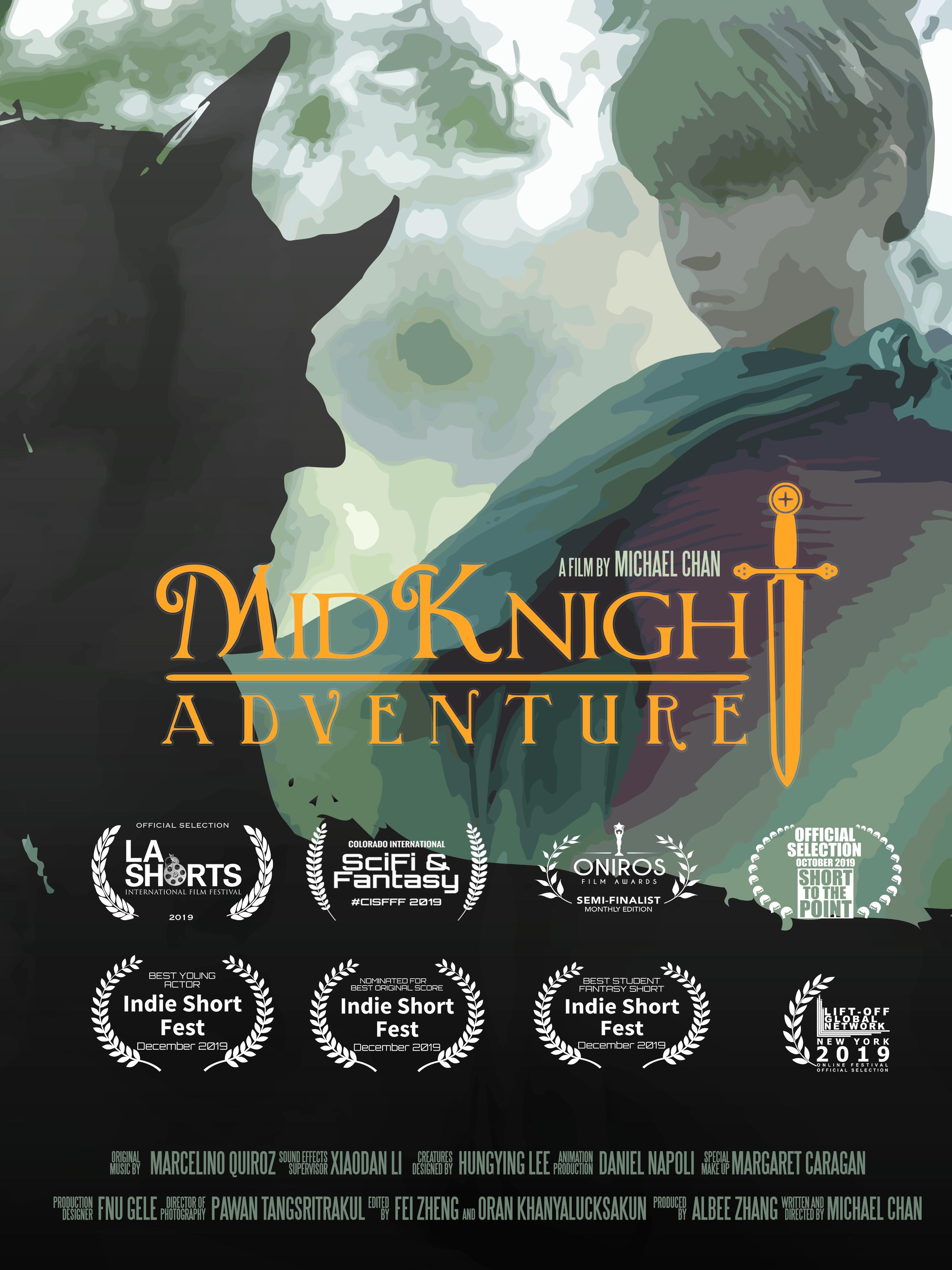 MidKnight Adventure kapak