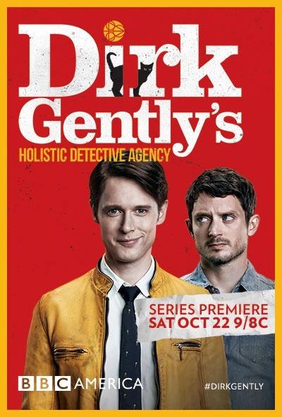 Dirk Gently's Holistic Detective Agency kapak