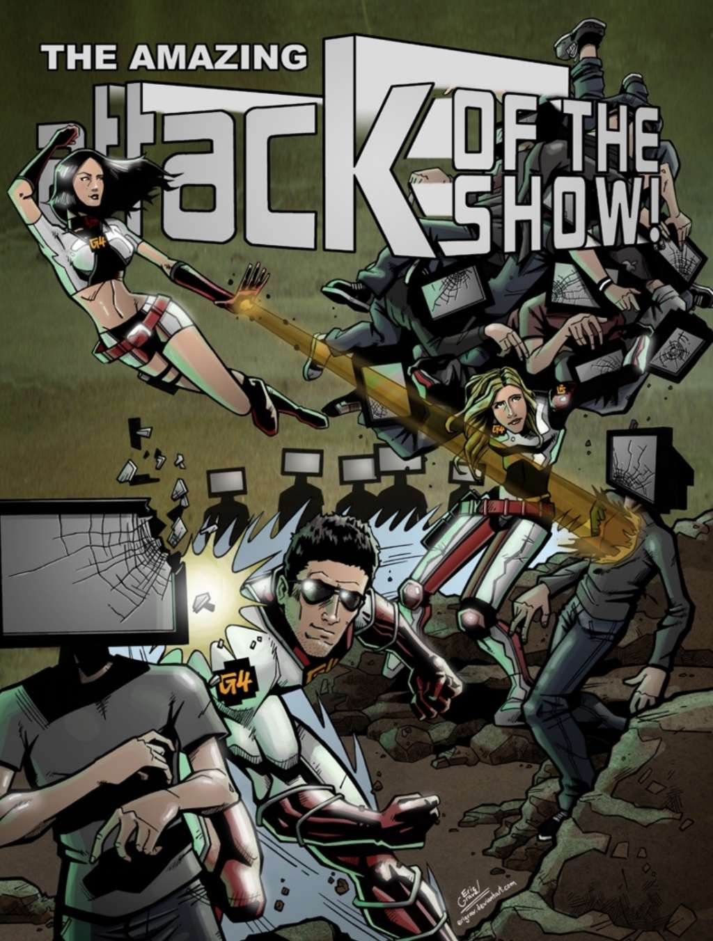 Attack of the Show! kapak