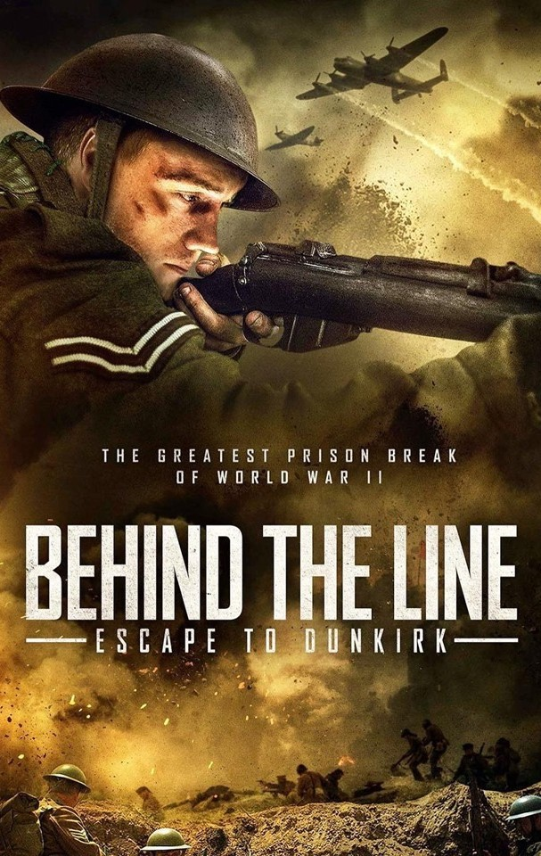 Behind the Line: Escape to Dunkirk kapak