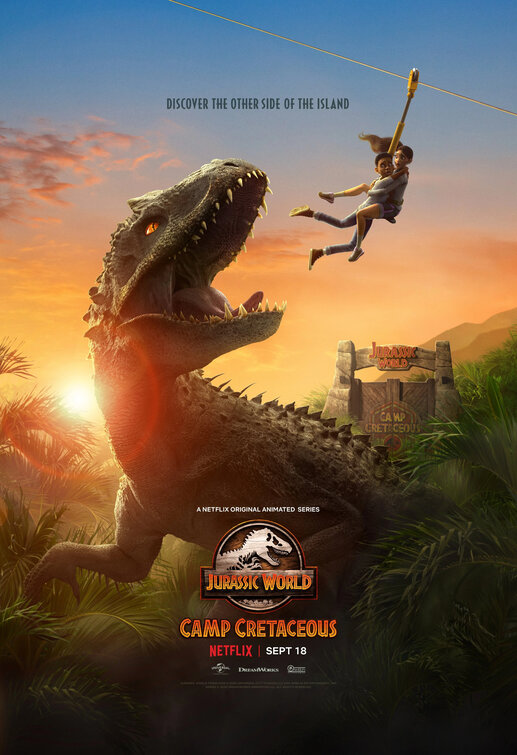 Jurassic World: Camp Cretaceous kapak