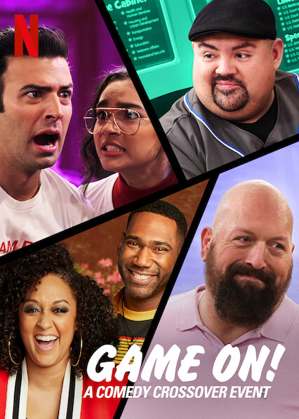 Game On! A Comedy Crossover Event kapak