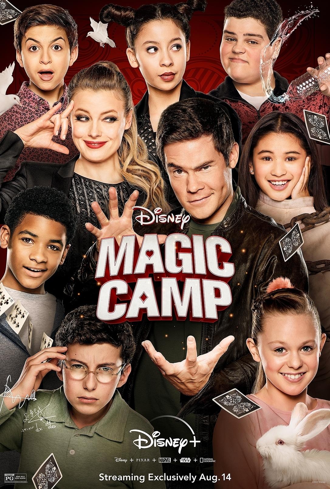 Magic Camp kapak