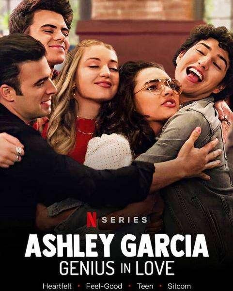Ashley Garcia: Genius in Love kapak