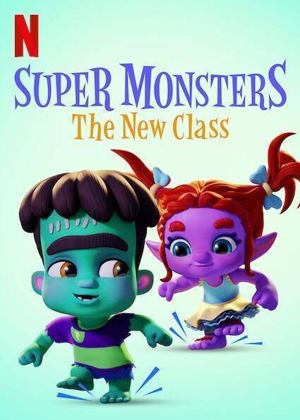 Super Monsters: The New Class kapak