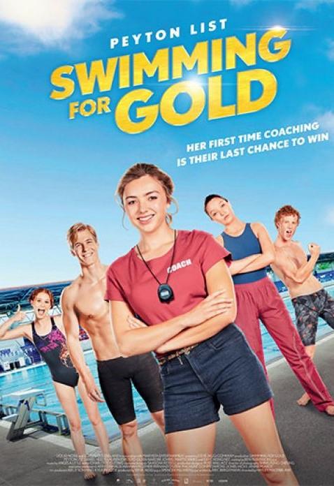 Swimming for Gold kapak