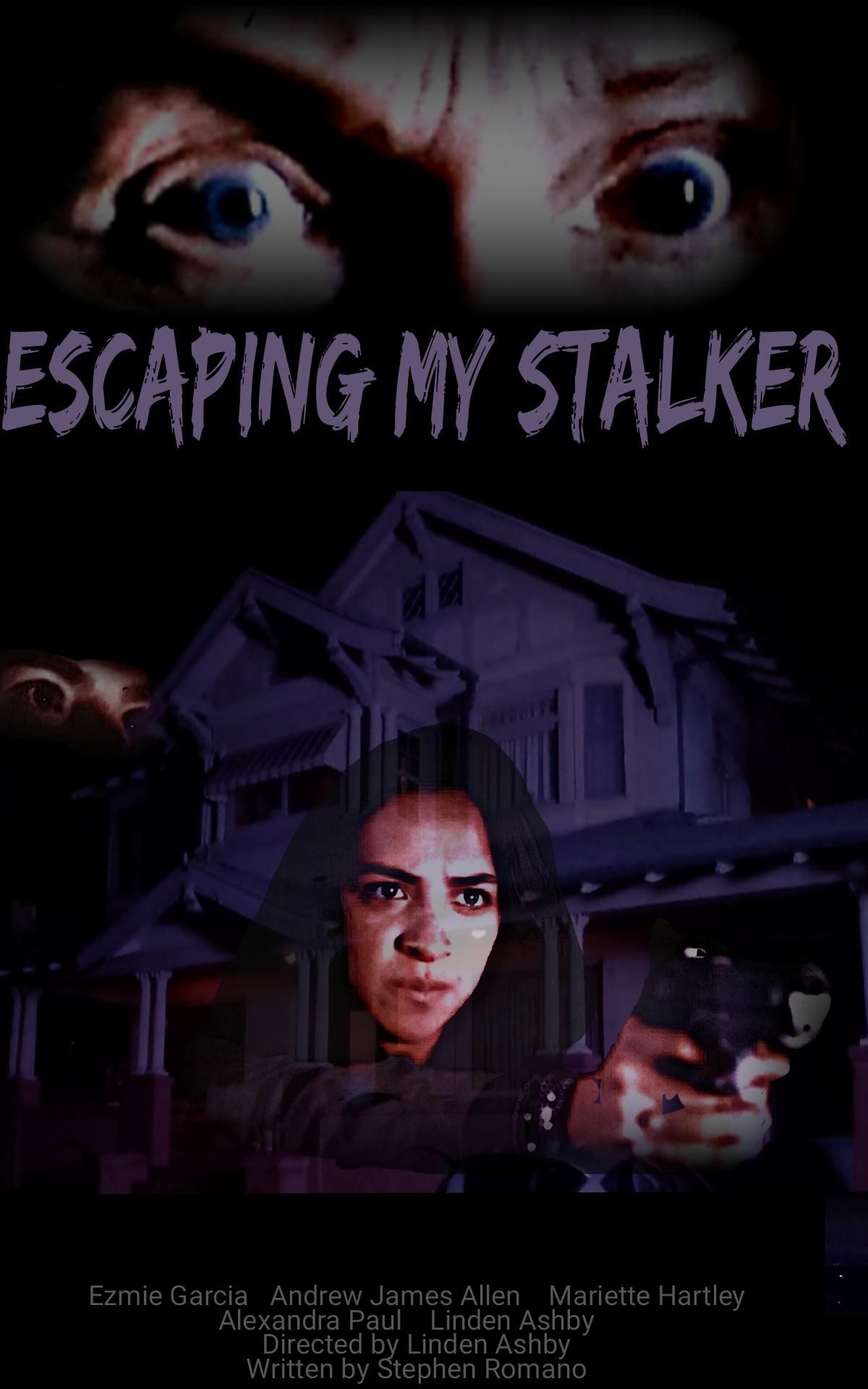 Escaping My Stalker kapak