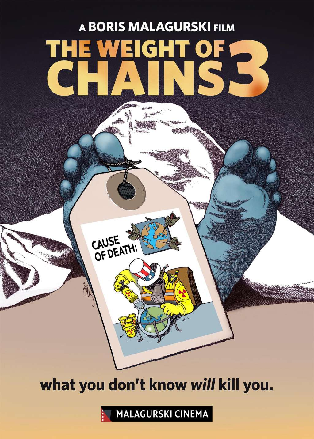 The Weight of Chains 3 kapak
