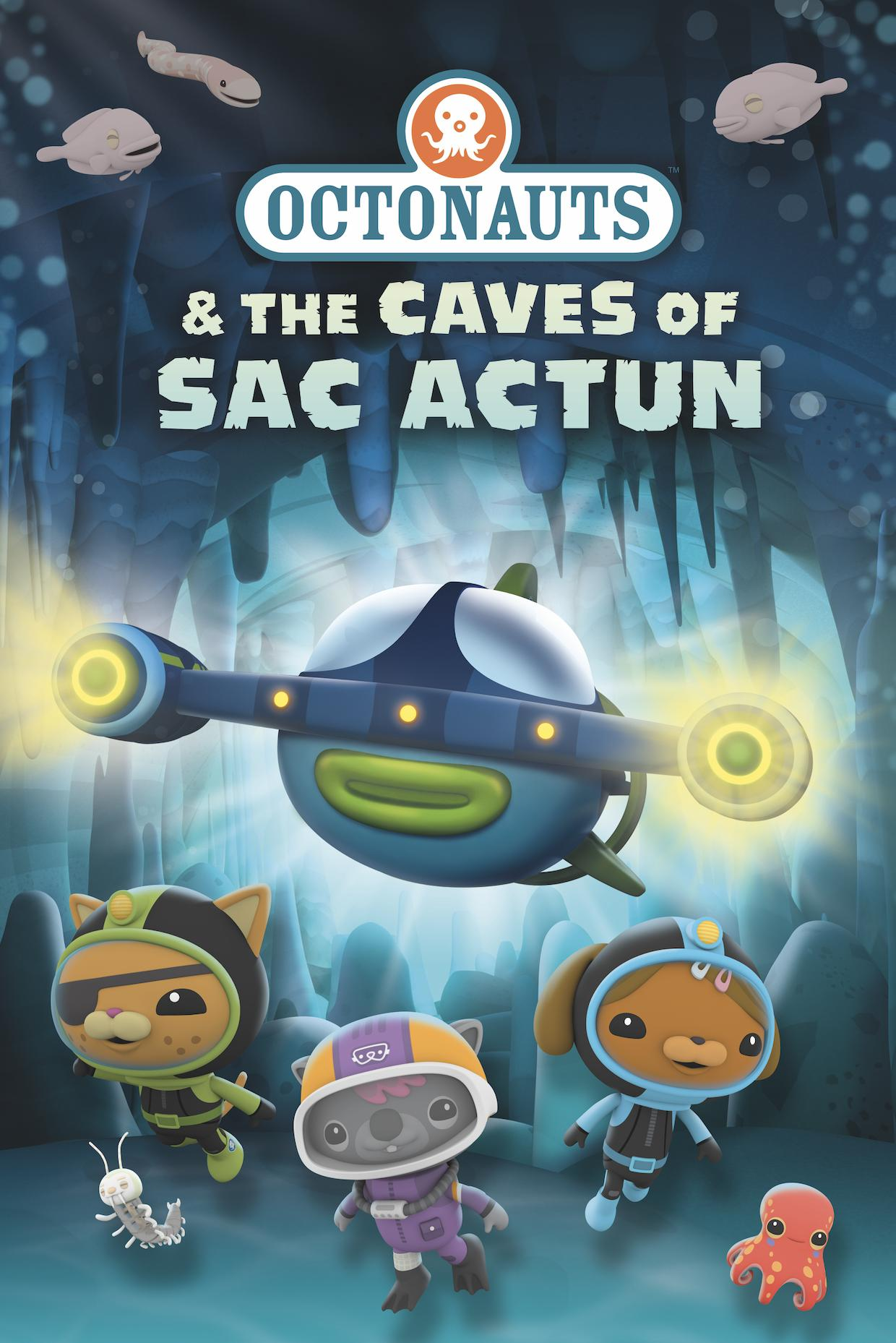 Octonauts and the Caves of Sac Actun kapak