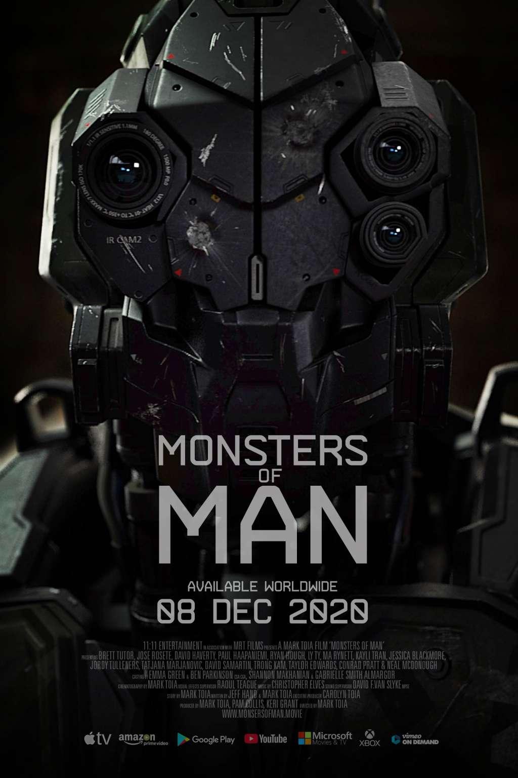 Monsters of Man kapak