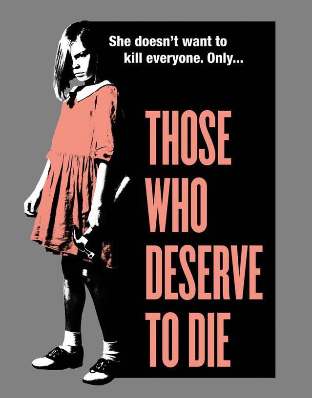 Those Who Deserve to Die kapak