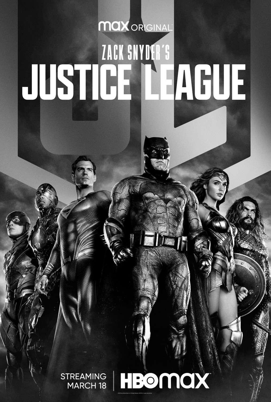 Zack Snyder's Justice League kapak