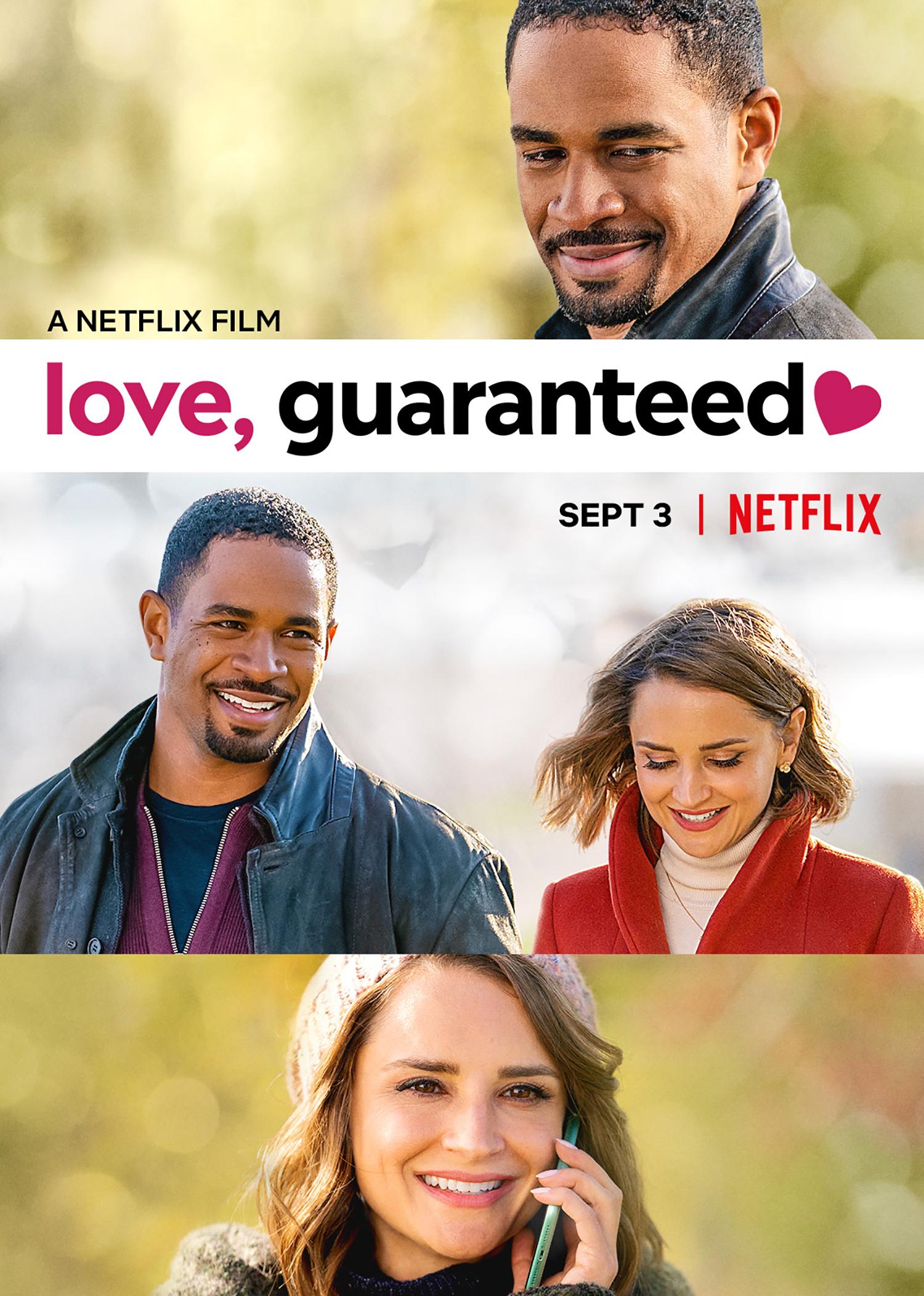 Love, Guaranteed kapak