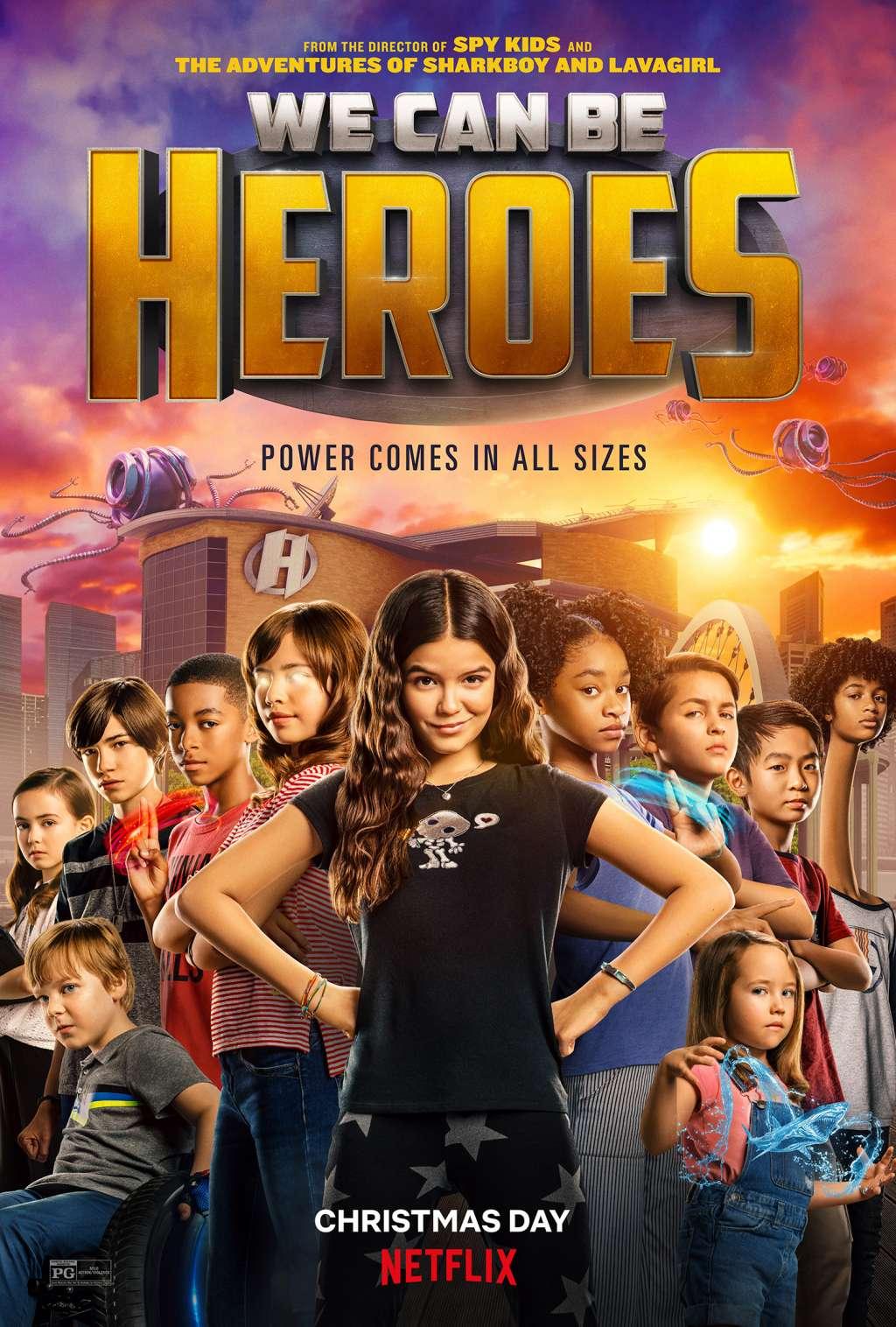 We Can Be Heroes kapak