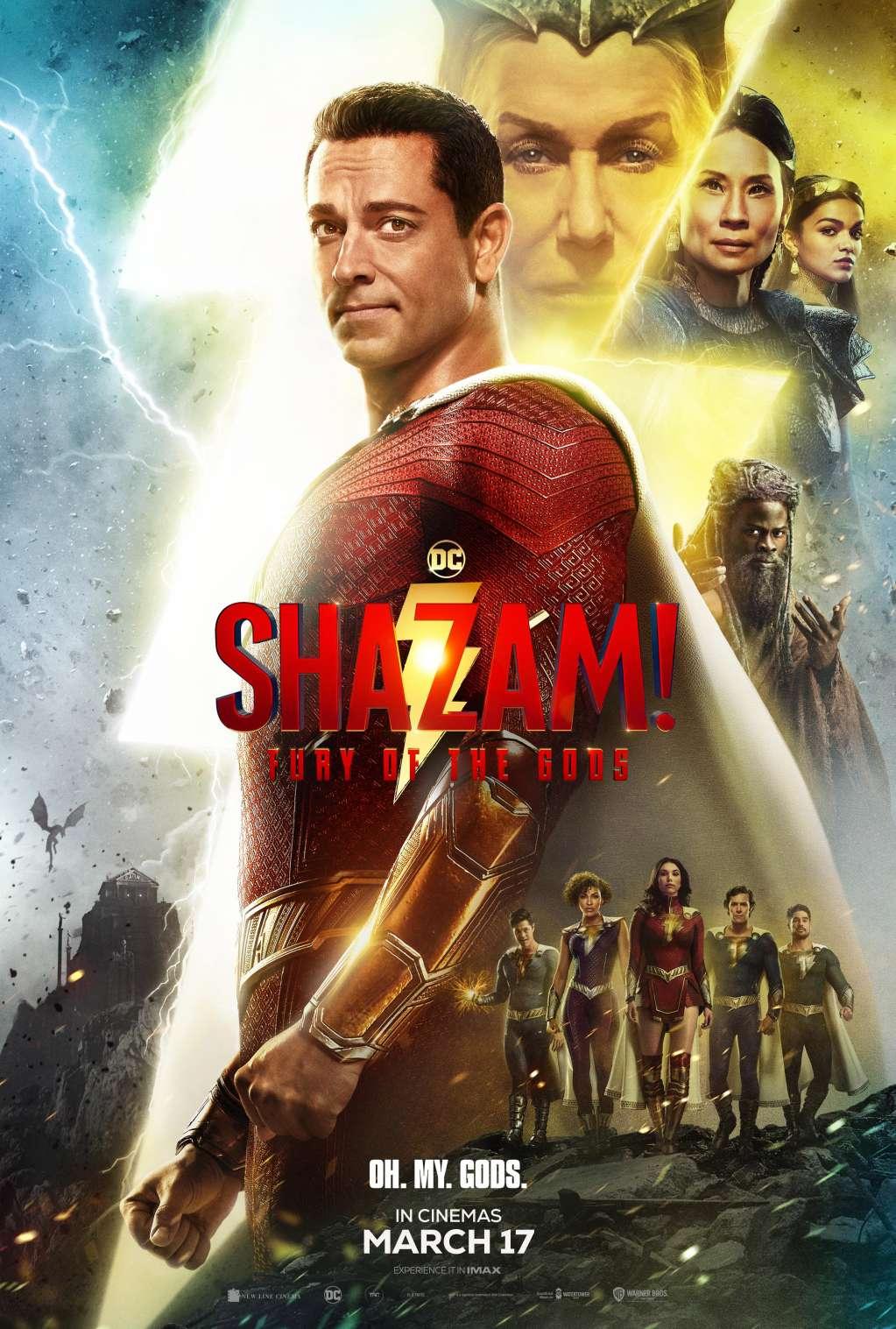 Shazam! Fury of the Gods kapak