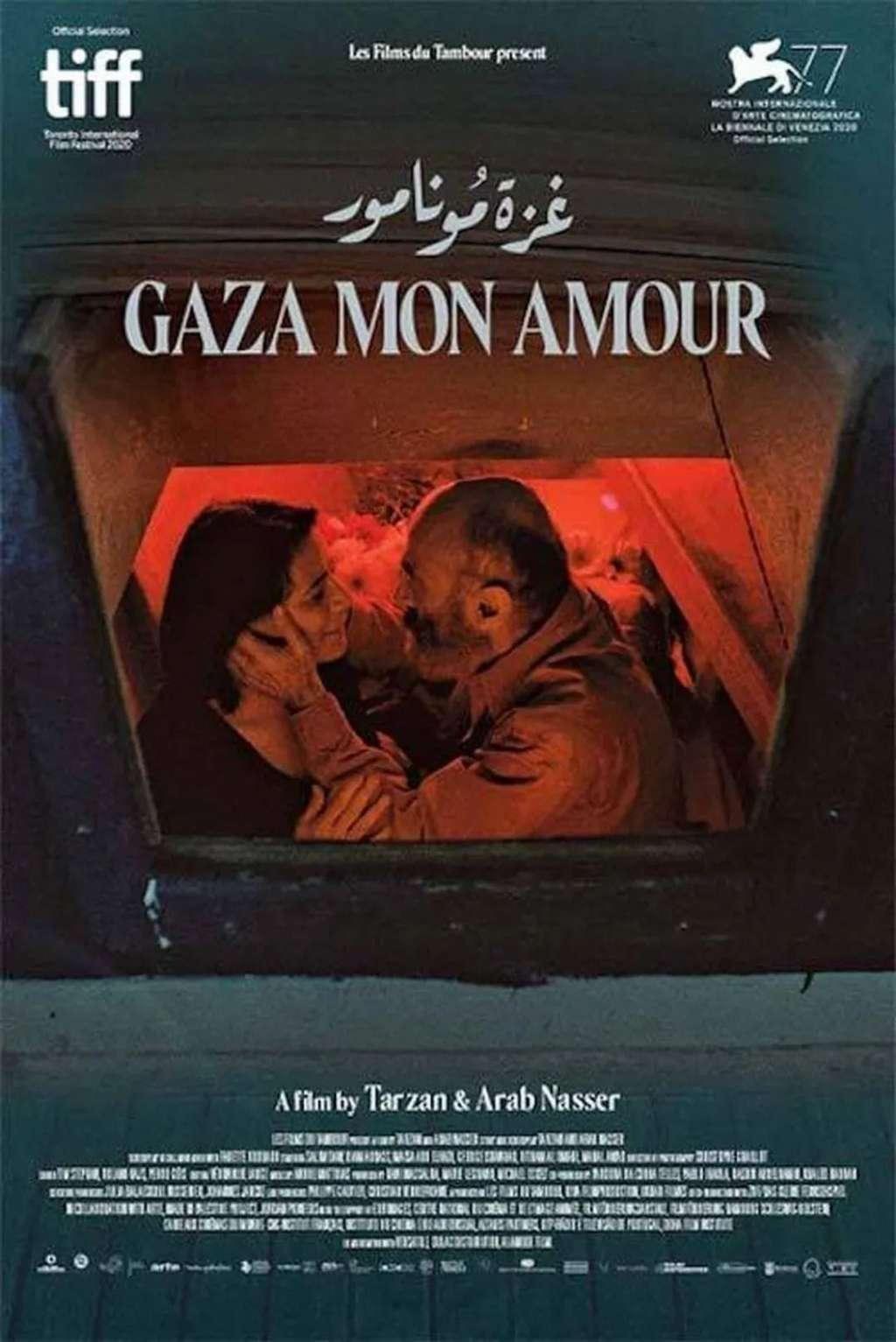Gaza mon amour kapak